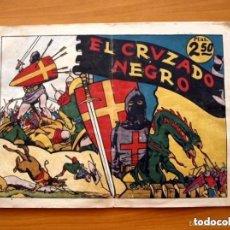 Tebeos: EL CRUZADO NEGRO - LAS GRANDES AVENTURAS DE 2,50, EJEMPLAR MONOGRÁFICO - ED. HISPANO AMERICANA 1942. Lote 164961546