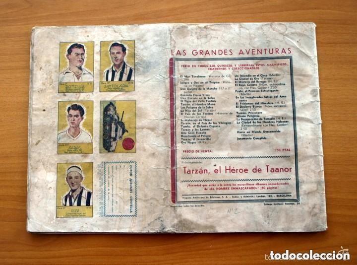 Tebeos: El cruzado negro - Las Grandes aventuras de 2,50, ejemplar monográfico - Ed. Hispano Americana 1942 - Foto 4 - 164961546