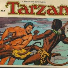 Tebeos: TARZÁN, COLECCIÓN COMPLETA SON 10 TEBEOS EDICIONES B.O. DIBUJOS DE RUSS MANNING,. Lote 165116534