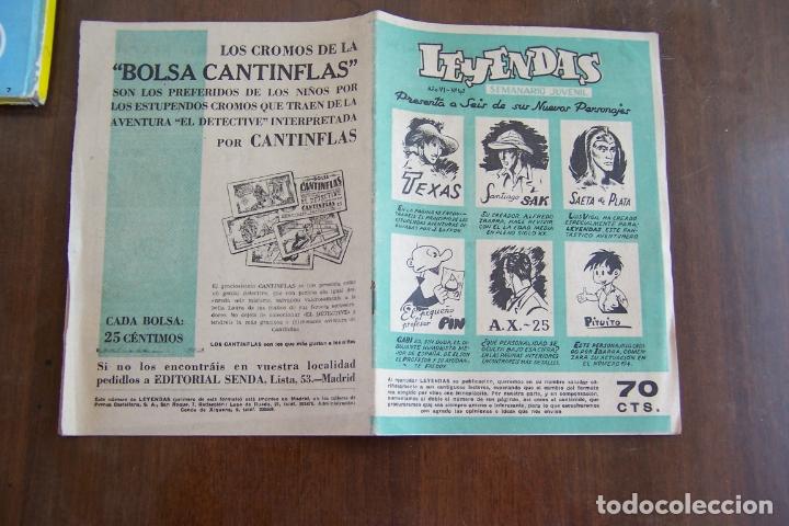 Tebeos: hispano americana lote leyendas infantiles 84 al 182 y muestras de la 1º y 3ª ep.y almanaques - Foto 17 - 64073673