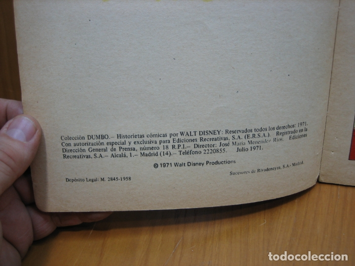 Tebeos: Antiguo tebeo de Disney - Foto 4 - 165461866