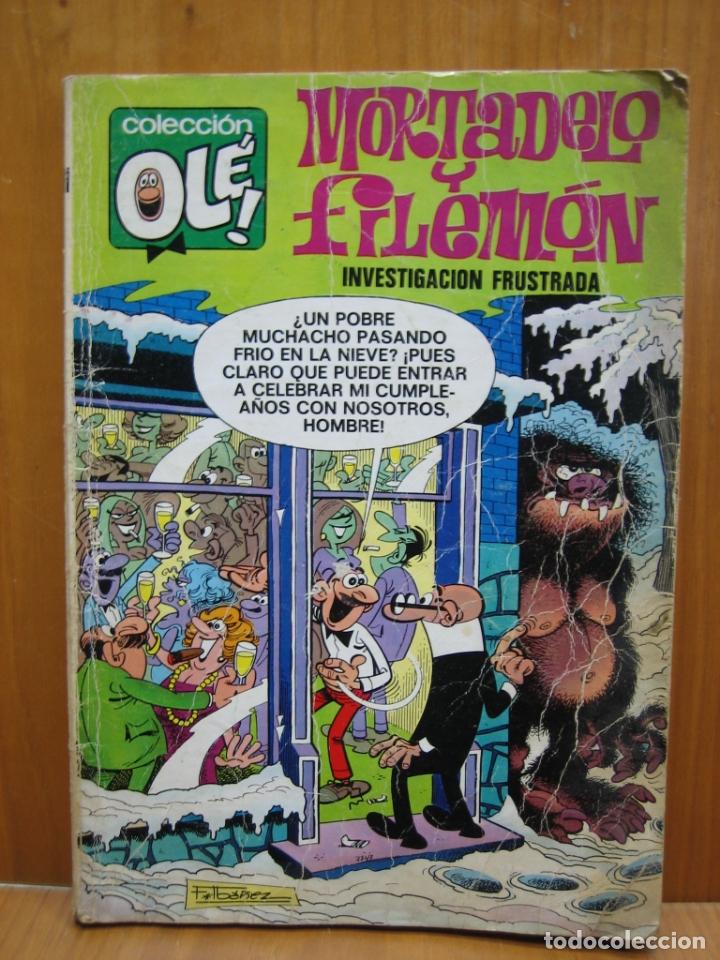 ANTIGUO TEBEO MORTADELO Y FILEMON. COLECCION OLE (Tebeos y Comics - Hispano Americana - Merlín)