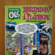 Tebeos: ANTIGUO TEBEO MORTADELO Y FILEMON. COLECCION OLE. Lote 165462470