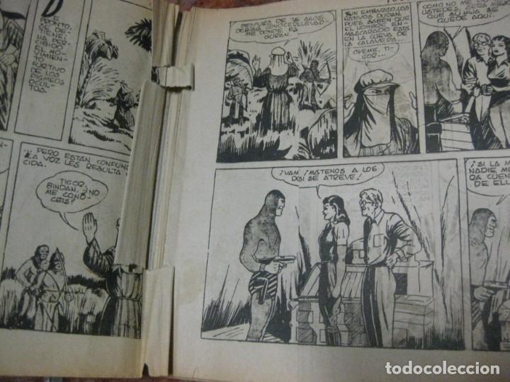 Tebeos: el hombre enmascarado nº 6 . hispanoamericana de ediciones tapas duras original - Foto 5 - 165666330
