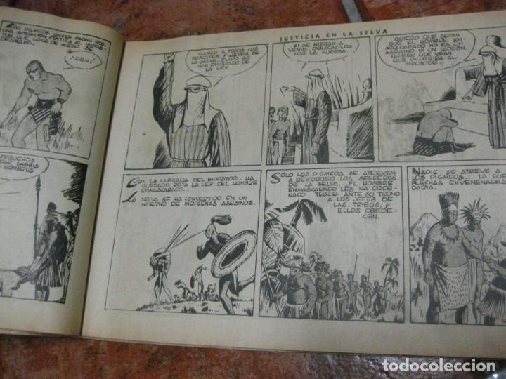 Tebeos: el hombre enmascarado nº 6 . hispanoamericana de ediciones tapas duras original - Foto 9 - 165666330