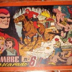 Tebeos: EL HOMBRE ENMASCARADO Nº 6 . HISPANOAMERICANA DE EDICIONES TAPAS DURAS ORIGINAL. Lote 165666330
