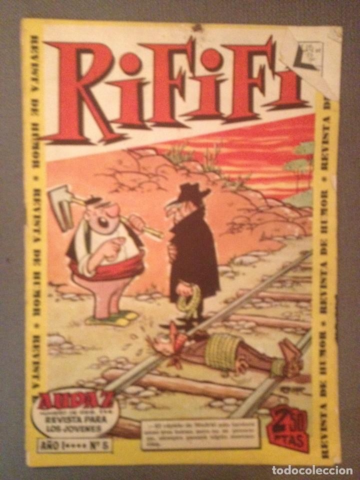 RIFIFI NUM 5, 1961 (Tebeos y Comics - Hispano Americana - Otros)