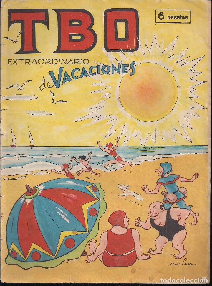 TBO EXTRAORDINARIO DE VACACIONES DE 1964 (Tebeos y Comics - Hispano Americana - Carlos el Intrépido)