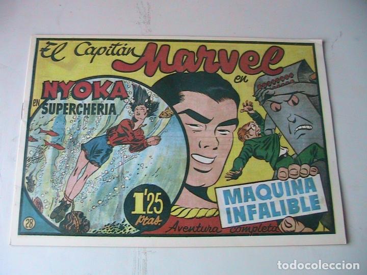 CAPITÁN MARVEL 28 FACSÍMIL. HISPANOAMERICANA. (Tebeos y Comics - Hispano Americana - Capitán Marvel)