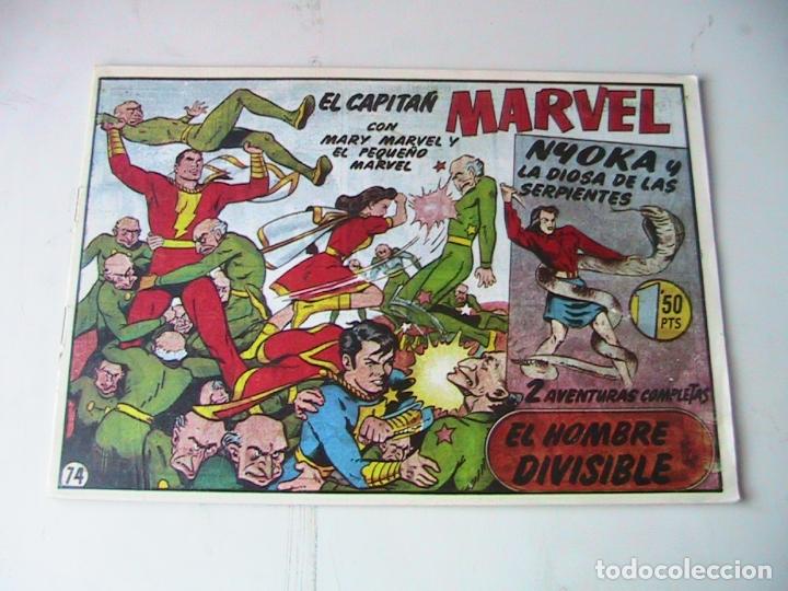 CAPITÁN MARVEL 74 FACSÍMIL. HISPANOAMERICANA. (Tebeos y Comics - Hispano Americana - Capitán Marvel)