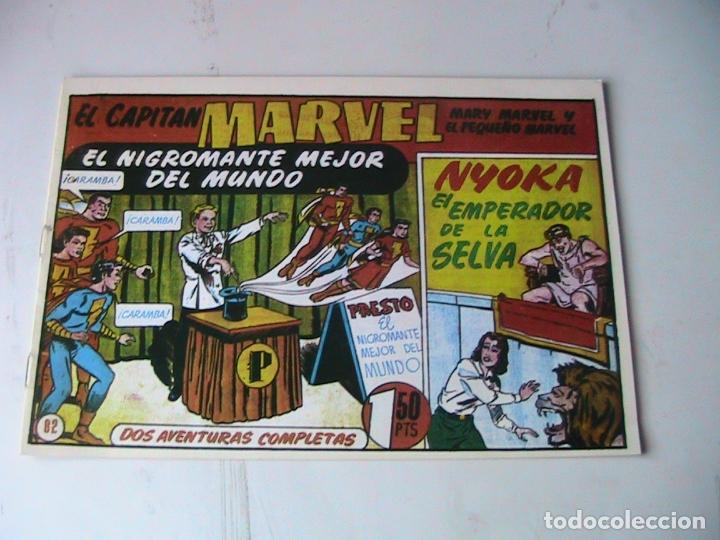 CAPITÁN MARVEL 82 FACSÍMIL. HISPANOAMERICANA. (Tebeos y Comics - Hispano Americana - Capitán Marvel)