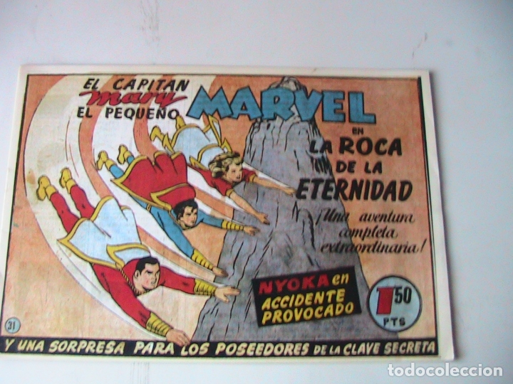 CAPITÁN MARVEL 31 FACSÍMIL. HISPANOAMERICANA. (Tebeos y Comics - Hispano Americana - Capitán Marvel)