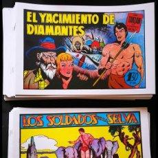 Tebeos: TARZAN. EL HOMBRE-MONO (63 EJEMPLARES). Lote 166651644
