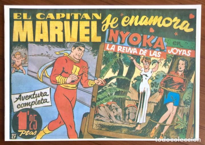 EL CAPITAN MARVEL Nº 27 FACSIMIL. HISPANO AMERICANA. EL CAPITAN MARVEL SE ENAMORA (Tebeos y Comics - Hispano Americana - Capitán Marvel)