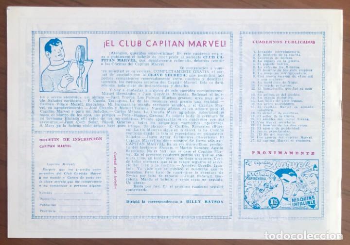 Tebeos: EL CAPITAN MARVEL Nº 27 FACSIMIL. HISPANO AMERICANA. EL CAPITAN MARVEL SE ENAMORA - Foto 2 - 167469000