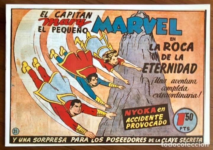 EL CAPITAN MARVEL Nº 31. FACSÍMIL. LA ROCA DE LA ETERNIDAD. HISPANO AMERICANA. (Tebeos y Comics - Hispano Americana - Capitán Marvel)