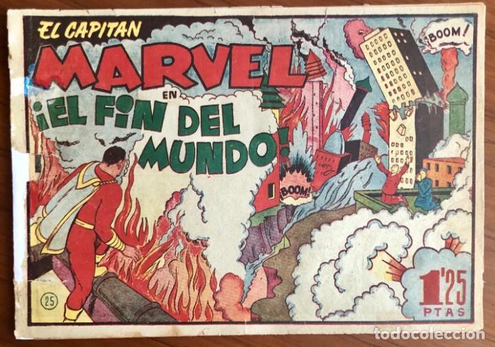 EL CAPITAN MARVEL Nº 25. ORIGINAL. ¡EL FIN DEL MUNDO!. HISPANO AMERICANA. (Tebeos y Comics - Hispano Americana - Capitán Marvel)