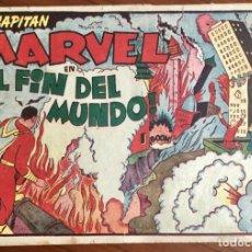 Tebeos: EL CAPITAN MARVEL Nº 25. ORIGINAL. ¡EL FIN DEL MUNDO!. HISPANO AMERICANA.. Lote 167472548