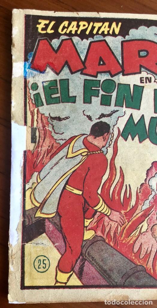 Tebeos: EL CAPITAN MARVEL Nº 25. ORIGINAL. ¡EL FIN DEL MUNDO!. HISPANO AMERICANA. - Foto 2 - 167472548