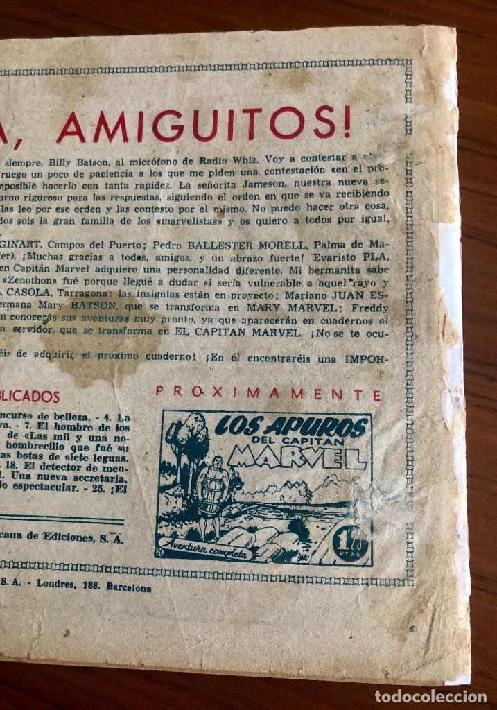 Tebeos: EL CAPITAN MARVEL Nº 25. ORIGINAL. ¡EL FIN DEL MUNDO!. HISPANO AMERICANA. - Foto 4 - 167472548