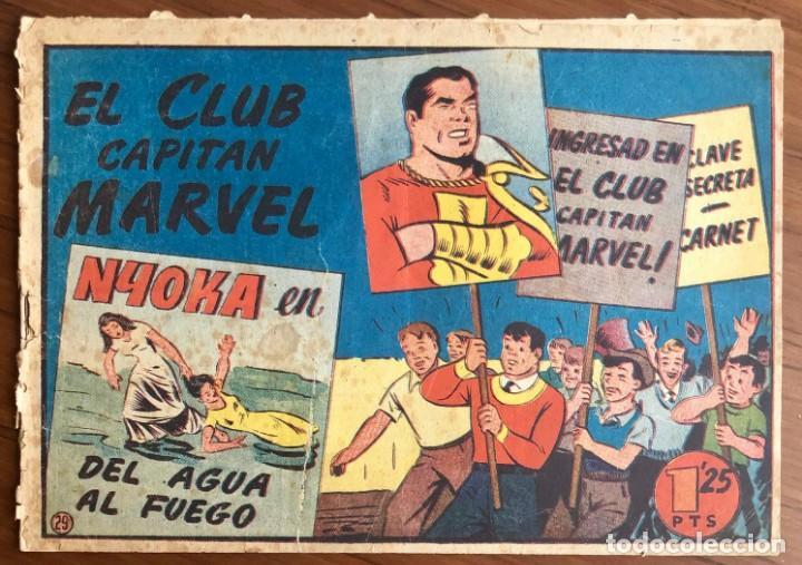 EL CAPITAN MARVEL Nº 29. ORIGINAL. EL CLUB CAPITAN MARVEL. HISPANO AMERICANA. (Tebeos y Comics - Hispano Americana - Capitán Marvel)