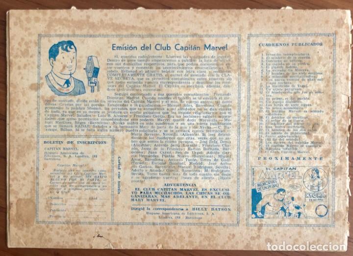 Tebeos: EL CAPITAN MARVEL Nº 29. ORIGINAL. EL CLUB CAPITAN MARVEL. HISPANO AMERICANA. - Foto 5 - 167473152