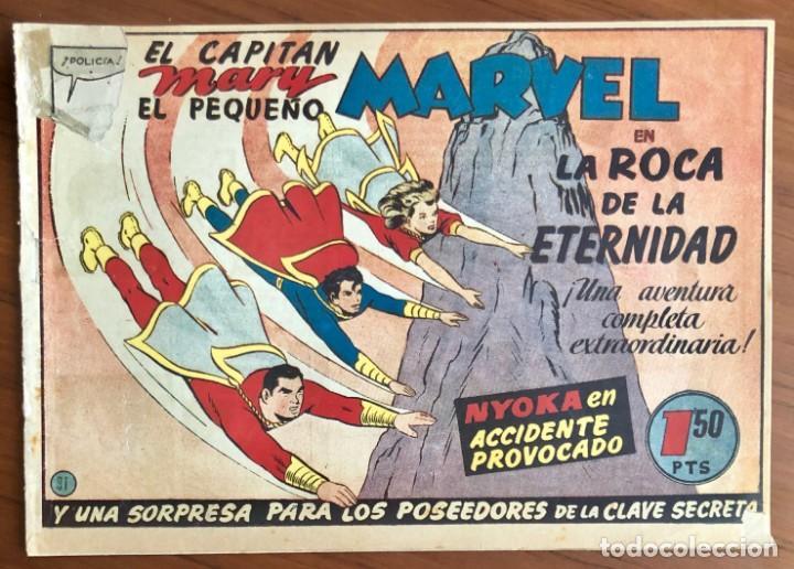 EL CAPITAN MARVEL Nº 31. ORIGINAL. LA ROCA DE LA ETERNIDAD. HISPANO AMERICANA. (Tebeos y Comics - Hispano Americana - Capitán Marvel)