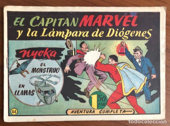EL CAPITAN MARVEL Nº 44. ORIGINAL. LA LAMPARA DE DIOGENES. HISPANO AMERICANA. (Tebeos y Comics - Hispano Americana - Capitán Marvel)