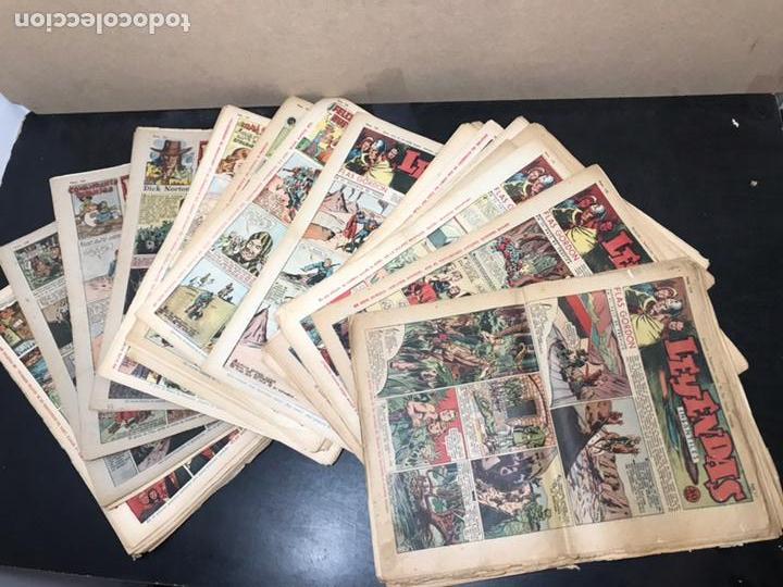 Tebeos: Lote Leyendas Infantiles 59 números correlativos, desde Año III nº 114 al Año IV nº 172. - Foto 2 - 168050024