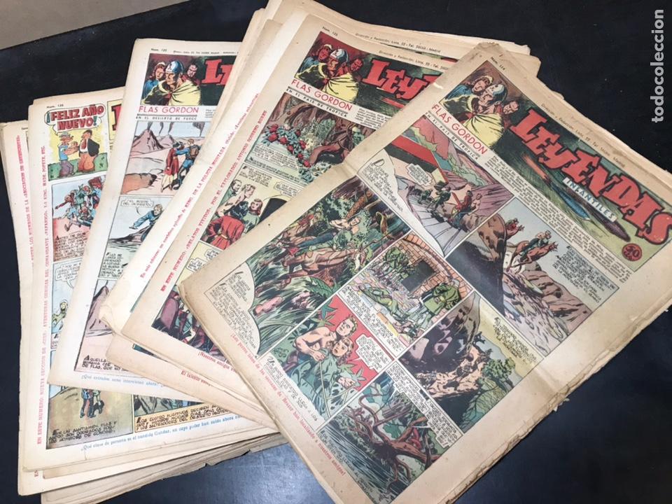 LOTE LEYENDAS INFANTILES 59 NÚMEROS CORRELATIVOS, DESDE AÑO III Nº 114 AL AÑO IV Nº 172. (Tebeos y Comics - Hispano Americana - Leyendas Infantiles)