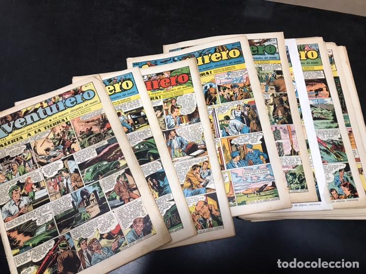 AVENTURERO - SEMANARIO PARA LOS JÓVENES - AÑO I. DEL 1 AL 24. (FALTAN 3). PRESENTE Nº 1. (Tebeos y Comics - Hispano Americana - Aventurero)