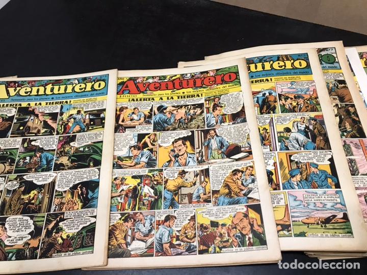 Tebeos: AVENTURERO - SEMANARIO PARA LOS JÓVENES - AÑO I. DEL 1 AL 24. (FALTAN 3). PRESENTE Nº 1. - Foto 2 - 168053896