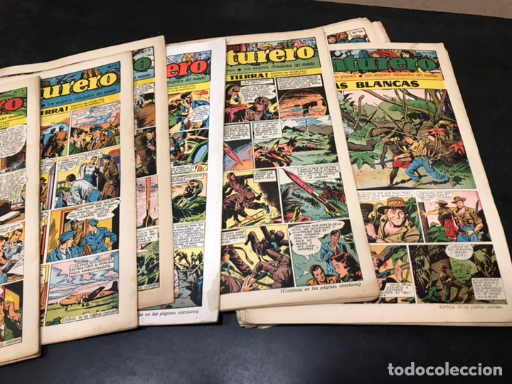 Tebeos: AVENTURERO - SEMANARIO PARA LOS JÓVENES - AÑO I. DEL 1 AL 24. (FALTAN 3). PRESENTE Nº 1. - Foto 3 - 168053896