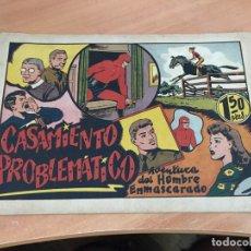 Tebeos: EL HOMBRE ENMASCARADO Nº 58 CASAMIENTO PROBLEMATICO (ORIGINAL HISPANO AMERICANA) (COIB4). Lote 168865584