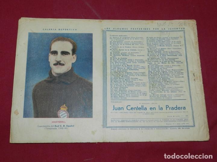 Tebeos: (M1) CARLOS EL INTREPIDO NUM 20 VAGANDO POR EL ESPACIO , HISPANO AMERICANA 1942, SEÑALES DE USO - Foto 2 - 54767679