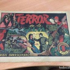 Tebeos: EL HOMBRE ENMASCARADO Nº 50 TERROR EN LA SELVA (ORIGINAL HISPANO AMERICANA) CROMO BESCOS (COIB4). Lote 168947520