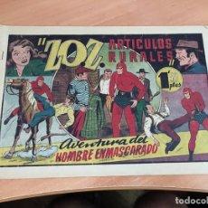 Tebeos: EL HOMBRE ENMASCARADO Nº 38 ARTICULOS RURALES ( ORIGINAL HISPANO AMERICANA) (COIB4). Lote 168950556