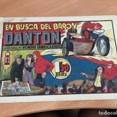 Tebeos: HOMBRE ENMASCARADO Nº 34 EN BUSCA DEL BARON DANTON (ORIGINAL HISPANO AMERICANA) (COIB4). Lote 168969392