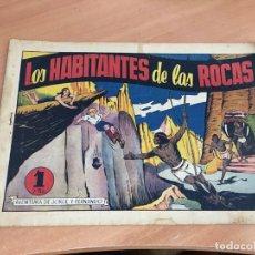 Tebeos: JORGE Y FERNANDO Nº 38 LOS HABITANTES DE LAS ROCAS (ORIGINAL HISPANO AMERICANA) CROMO (COIB4). Lote 168973600
