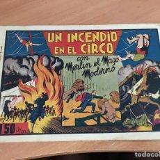 Tebeos: MERLIN Nº 1 UN INCENDIO EN EL CIRCO (ORIGINAL HISPANO AMERICANA) CROMOS (COIB4). Lote 169042576