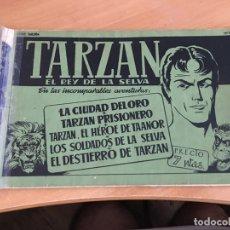 Tebeos: TARZAN TOMO ALBUM VERDE (ORIGINAL HISPANO AMERICANA) (COIB4). Lote 169048900