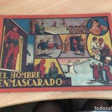 Tebeos: EL HOMBRE ENMASCARADO Nº 3 ALBUM ROJO (ORIGINAL HISPANO AMERICANA) (COIB4). Lote 169049876