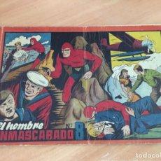 Tebeos: EL HOMBRE ENMASCARADO Nº 8 ALBUM ROJO (ORIGINAL HISPANO AMERICANA) (COIB5). Lote 169055852