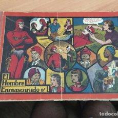 Tebeos: EL HOMBRE ENMASCARADO Nº 1 ALBUM ROJO (ORIGINAL HISPANO AMERICANA) (COIB5). Lote 169078844