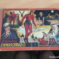 Tebeos: EL HOMBRE ENMASCARADO Nº 4 ALBUM ROJO (ORIGINAL HISPANO AMERICANA) (COIB5). Lote 169079444