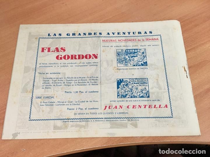 Tebeos: FLASH FLAS GORDON COLECCION COMPLETA 1 AL 18 (ORIGINAL ED. HISPANO AMERICANA) (COIB5) - Foto 11 - 169116280