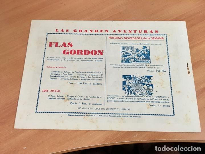 Tebeos: FLASH FLAS GORDON COLECCION COMPLETA 1 AL 18 (ORIGINAL ED. HISPANO AMERICANA) (COIB5) - Foto 14 - 169116280