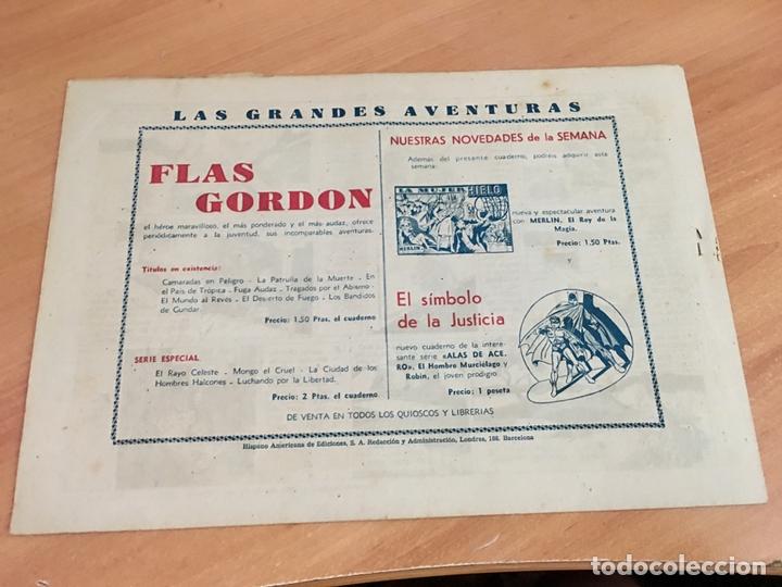 Tebeos: FLASH FLAS GORDON COLECCION COMPLETA 1 AL 18 (ORIGINAL ED. HISPANO AMERICANA) (COIB5) - Foto 18 - 169116280