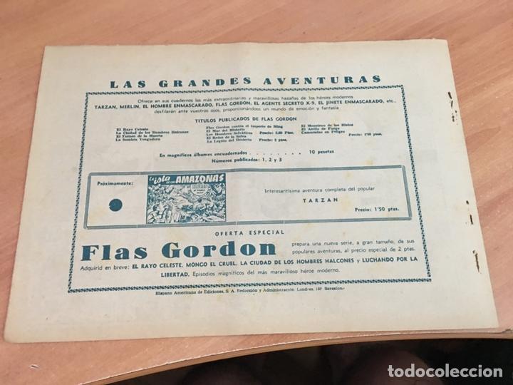 Tebeos: FLASH FLAS GORDON COLECCION COMPLETA 1 AL 18 (ORIGINAL ED. HISPANO AMERICANA) (COIB5) - Foto 32 - 169116280