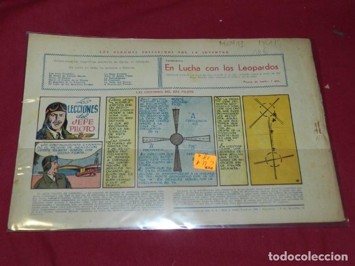 Tebeos: (M1) CARLOS EL INTREPIDO NUM 13 UNA AVENTURA EN UN ATOMO , HISPANO AMERICANA 1942, SEÑALES DE USO - Foto 2 - 54767589